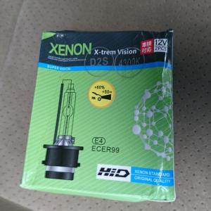 【無駄遣いシリーズ】HIDバルブD2Sを買ってみました