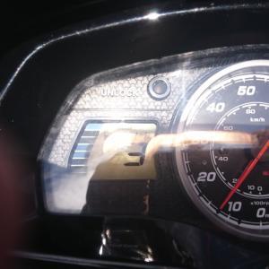 ジェットスキーの燃費 前回ツーリング時の燃費です