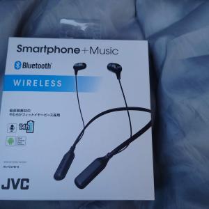 【無駄遣いシリーズ】JVC HA-FX37BT-B ワイヤレスイヤホンを買ってみました