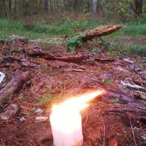 ドイツ旅行記6日目その1 ポーランド国境近くの森で炎の解除セッション