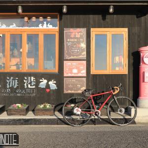 [写真]うさぎ島で撮影ポタ~風景と自転車