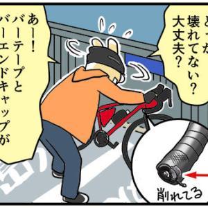 [4コマ]ロードバイクノート14・3回目のレンタルその6 やっぱり楽しくない…