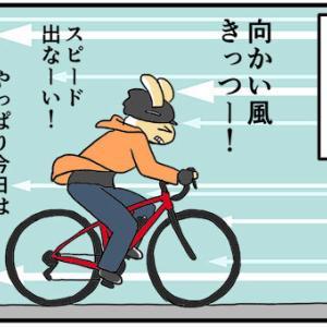 [4コマ]ロードバイクノート15・3回目のレンタルその7 憂鬱な帰り道
