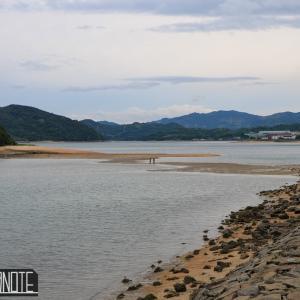 [写真]大三島・海割れの日に古城島へ