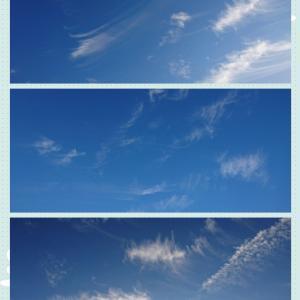 学校守衛物語ー80 《今朝の雲とハロウィンチョコ》
