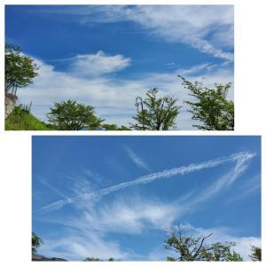 ウォーキングスナップー7 《空のキャンパッスの雲》