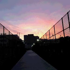 学校守衛物語ー68 《夕焼けが美しい》