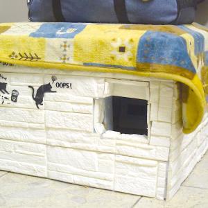 猫だって温暖化問題!自作 冷房 キャットハウス