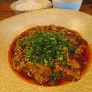 新宿 お惣菜が豊富なおしゃれ中華で四川風麻婆豆腐