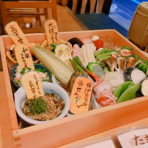 新宿 ユーモア溢れる天ぷら串屋さん