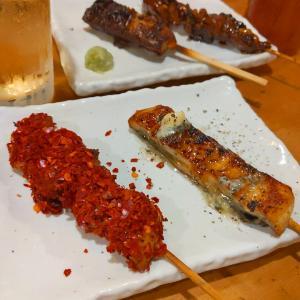 新宿 バラエティ豊かな鰻串を堪能ひとり酒