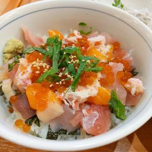 中野 コスパ最高ランチ 居酒屋さんの海鮮丼