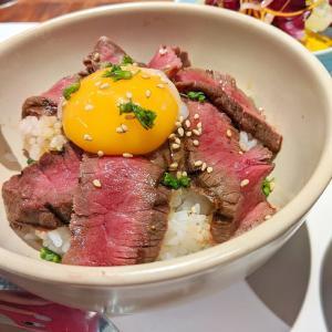 東京 がっくしからの満足ステーキ丼