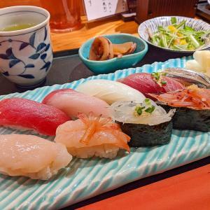 新宿 もう浮気はしないぞ、握り寿司