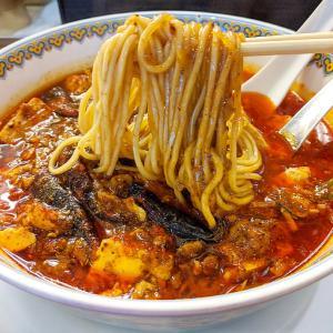 九段下 真紅の辛痺麻婆麺