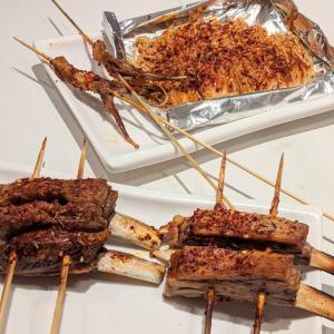 池袋 麻辣串とノンアルビアー