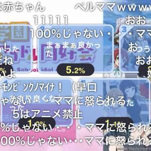 【祝】虹ヶ咲アニメ4話のニコ生「とても良かった」9割越え!右肩上がりで神回ラッシュ止まらんな!!【ラブライブ!】