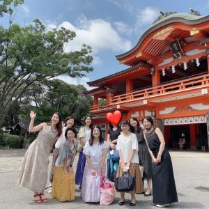 大歓迎の神社ツアー!!!