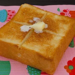 モーニング♡久しぶりの、トースト