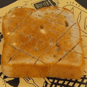 モーニング♡手のひらサイズの食パントースト