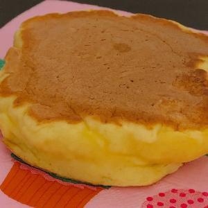 モーニング♡豆腐ホットケーキ!