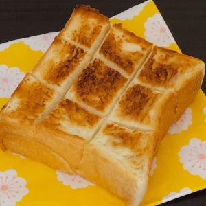 モーニング♡乃が美の厚切りトースト