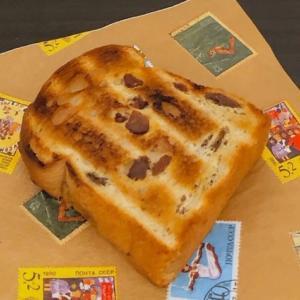 モーニング♡久しぶりのレーズン食パン!