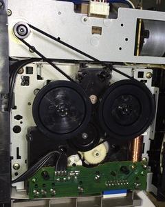 ☆カセットテープデッキK-V3修理(1)~(3):とうとうONKYO K-V3がモーター空回り!~ゴムベルト2本を元に戻して、今度こそ修理完了!