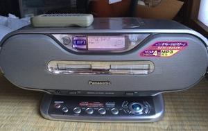 ☆『CD/MDラジカセ』直らず、『CDラジオ』となった!