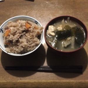 ☆ズボラおやじの簡単レシピ(81):はんぺんと椎茸の炊き込みご飯(栄養バランス 食事 レシピ)
