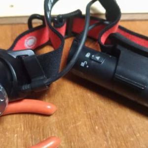 れびゅう忘れてた ヘッドライトLedlenser H8R USB充電式