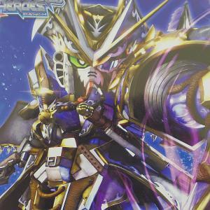 SDW HEROES SDガンダムワールド ヒーローズ ベンジャミンV2ガンダム レビュー