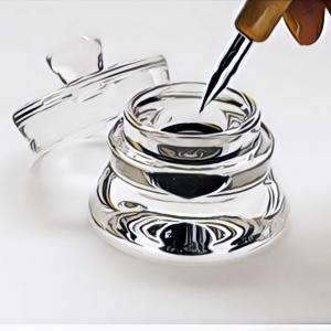 つけペン用インク入れ コニック瓶 インクウェル 未知数な物