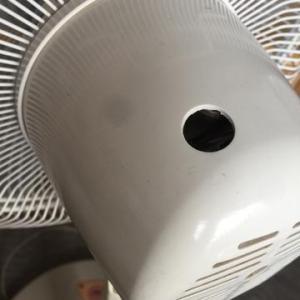 扇風機、壊しちゃった…Σ(゚д゚lll)