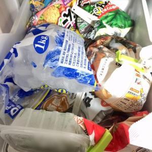 冷凍庫(小)を整理(*^o^*)