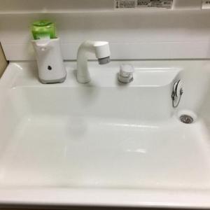 洗面所のコーティング♪
