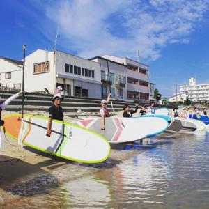 2020年もサップヨガを開催します♪福岡・今宿にて。