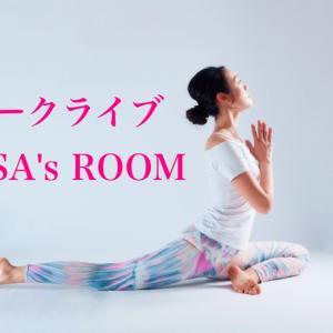 3/19(金)トークライブ「ARISA's ROOM」を開催します♪
