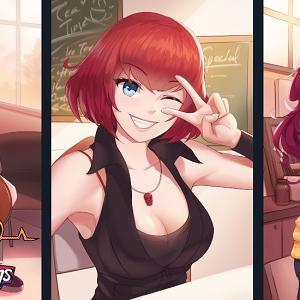 LoveSick Darlings Visual Novel on Kickstarter