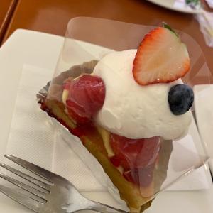 イチゴのケーキがお気に入り。