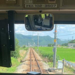 電車移動で