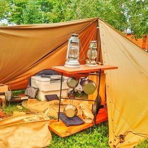キャンプ道具ってどうすればいいのこれ