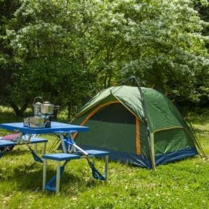 経験したことのあるアウトドア活動 3位「登山・ハイキング」、2位「キャンプ」、1位は?