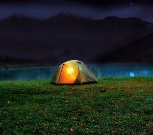 ソロキャンプ専用キャンプ場に来たら…