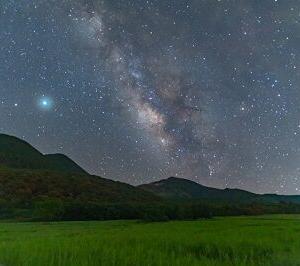 ソロキャンプで天体観測