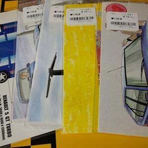 車のポストカード