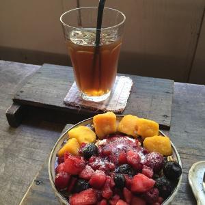 アンティークカフェ  ロード  さん  で  お茶TIME  ☆