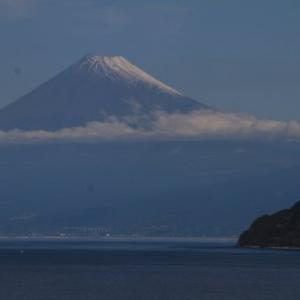 土肥からの富士山10月23日