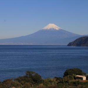 土肥からの富士山12月8日