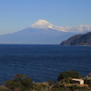 土肥からの富士山1月21日